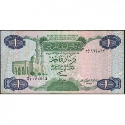 Libye - Pick 49 - 1 dinar - 1984 - Série 3C/4 - Etat : TB
