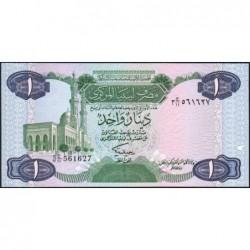 Libye - Pick 49 - 1 dinar - Série 3C/11 - 1984 - Etat : NEUF