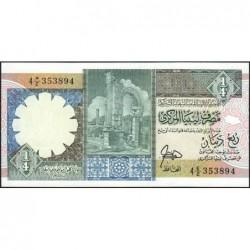 Libye - Pick 52 - 1/4 dinar - 1990 - Série 4E/2 - Etat : NEUF