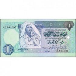 Libye - Pick 59a - 1 dinar - 1993 - Série 4C/31 - Etat : NEUF