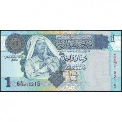 Libye - Pick 68b - 1 dinar - 2008 - Série 6C/79 - Etat : NEUF