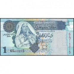 Libye - Pick 68b - 1 dinar - Série 6C/79 - 2008 - Etat : NEUF