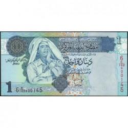 Libye - Pick 68b - 1 dinar - Série 6C/102 - 2008 - Etat : NEUF