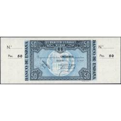 Espagne - Bilbao - Pick S564a non émis - 50 pesetas - 01/01/1937 - Etat : NEUF