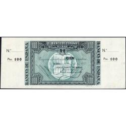 Espagne - Bilbao - Pick S565a non émis - 100 pesetas - 01/01/1937 - Etat : pr.NEUF