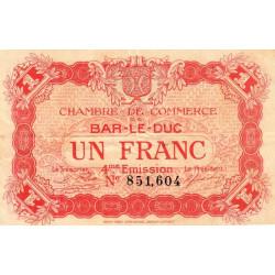 Bar-le-Duc - Pirot 19-15 - 1 franc - 4me émission (1920) - Etat : TTB