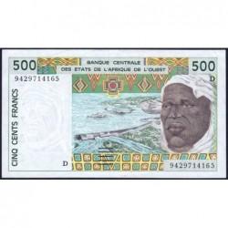 Mali - Pick 410Dc - 500 francs - 1994 - Etat : TTB