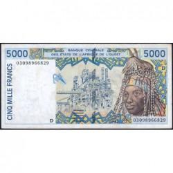 Mali - Pick 413Dl - 5'000 francs - 2003 - Etat : TTB
