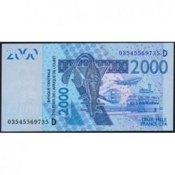 Mali - Pick 416Da - 2'000 francs - 2003 - Etat : NEUF