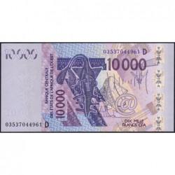 Mali - Pick 418Da - 10'000 francs - 2003 - Etat : NEUF