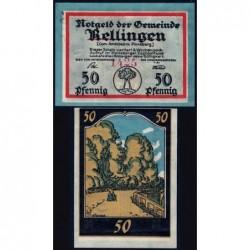 Allemagne - Notgeld - Rellingen - 50 pfennig - 1921 - Etat : SPL