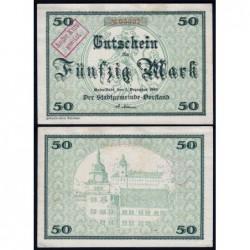 Allemagne - Notgeld - Rudolstadt - 50 mark - 01/12/1918 - Etat : SUP+
