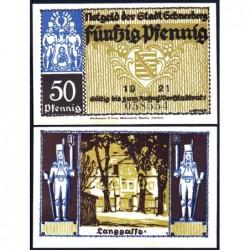 Allemagne - Notgeld - Schneeberg - 50 pfennig - 1921 - Etat : NEUF
