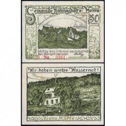Allemagne - Notgeld - Röhrigshöfe-an-Werra - 50 pfennig - Série B - 1922 - Etat : SPL+
