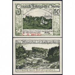 Allemagne - Notgeld - Röhrigshöfe-an-Werra - 50 pfennig - Série C - 1922 - Etat : NEUF