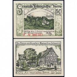 Allemagne - Notgeld - Röhrigshöfe-an-Werra - 50 pfennig - Série F - 1922 - Etat : NEUF