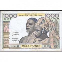 Niger - Pick 603Am - 1'000 francs - Série S.164 - 1976 - Etat : TTB