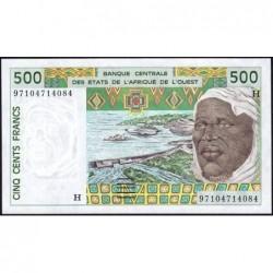 Niger - Pick 610Hh - 500 francs - 1997 - Etat : NEUF