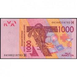 Niger - Pick 615Hb - 1'000 francs - 2004 - Etat : NEUF