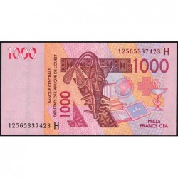 Niger - Pick 615Hl - 1'000 francs - 2012 - Etat : NEUF