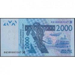 Niger - Pick 616Hb - 2'000 francs - 2004 - Etat : NEUF