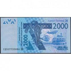 Niger - Pick 616Hl - 2'000 francs - 2012 - Etat : NEUF