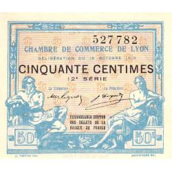 Lyon - Pirot 77-18 - 50 centimes - 12e série - 16/10/1919 - Etat : NEUF