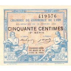 Lyon - Pirot 77-20 - 50 centimes - 13ème série - 1920 - Etat : NEUF