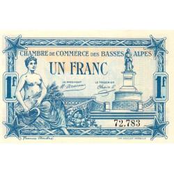 Basses-Alpes - Pirot 20-2 - 1 franc - 19/07/1917 - Etat : NEUF