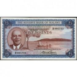 Malawi - Pick 4 - 5 pounds - Série B - 1964 - Etat : SUP+
