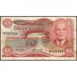 Malawi - Pick 14c - 1 kwacha - Série AK/A - 30/06/1979 - Etat : TB-