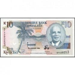 Malawi - Pick 25c - 10 kwacha - Série BF - 01/01/1994 - Etat : NEUF