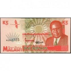 Malawi - Pick 30 - 5 kwacha - Série AG - 01/06/1995 - Etat : NEUF