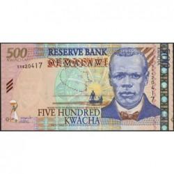 Malawi - Pick 48A - 500 kwacha - Série S - 01/06/2003 - Etat : NEUF