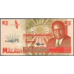 Malawi - Pick 30 - 5 kwacha - Série BD - 01/06/1995 - Etat : NEUF