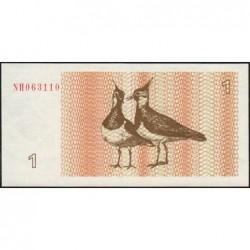 Lituanie - Pick 39 - 1 talonas - Série NH - 1992 - Etat : NEUF