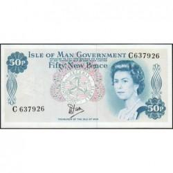 Man (île de) - Pick 33 - 50 new pence - Série C - 1979 - Etat : NEUF