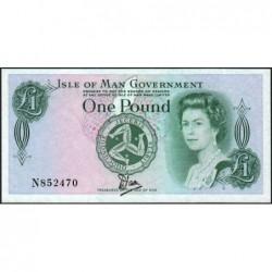 Man (île de) - Pick 38 - 1 pound - Série N - 1983 - Etat : NEUF