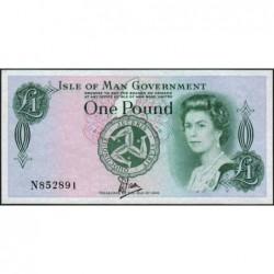 Man (île de) - Pick 38 - 1 pound - Série N - 1983 - Etat : pr.NEUF