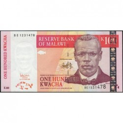 Malawi - Pick 54a - 100 kwacha - Série BE - 31/10/2005 - Etat : NEUF