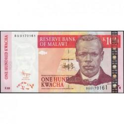 Malawi - Pick 54c - 100 kwacha - Série BU - 30/06/2011 - Etat : NEUF