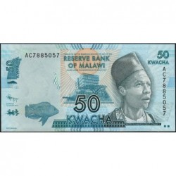 Malawi - Pick 58a - 50 kwacha - Série AC - 01/01/2012 - Etat : NEUF