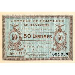 Bayonne - Pirot 21-5 - 50 centimes - 1915 - Etat : SPL