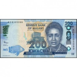 Malawi - Pick 60a - 200 kwacha - Série AC - 01/01/2012 - Etat : NEUF