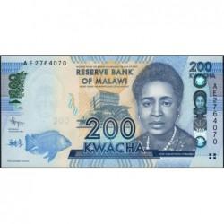 Malawi - Pick 60a - 200 kwacha - Série AE - 01/01/2012 - Etat : NEUF