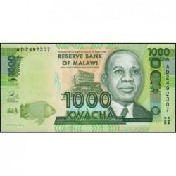 Malawi - Pick 62b - 1'000 kwacha - Série AD - 01/01/2013 - Etat : NEUF