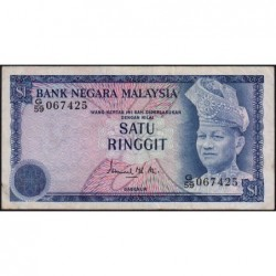 Malaisie - Pick 13a - 1 ringgit - Série G/59 - 1976 - Etat : TB+