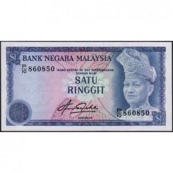 Malaisie - Pick 13b - 1 ringgit - Série P/10 - 1981 - Etat : SPL