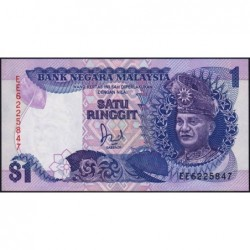 Malaisie - Pick 27a - 1 ringgit - Série EE - 1986 - Etat : NEUF