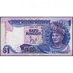 Malaisie - Pick 27b - 1 ringgit - Série GL - 1987 - Etat : NEUF